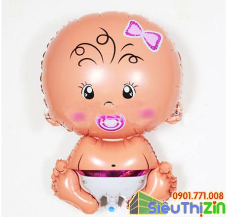Bóng trang trí hình em bé cỡ nhỏ