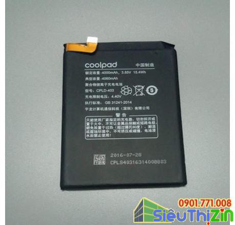 thay pin điện thoại coolpad dual r116 chính hãng 1
