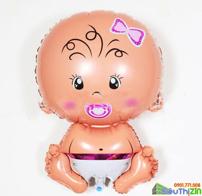 Bóng trang trí hình em bé cỡ