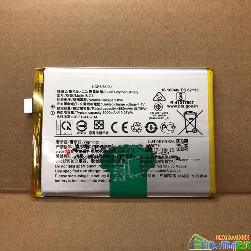 thay pin điện thoại vivo y12 chính hãng 1