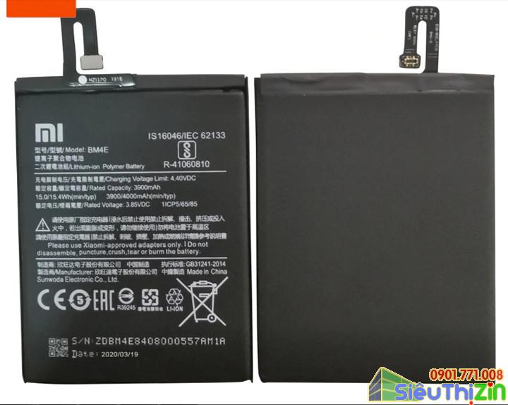 thay pin điện thoại xiaomi Pocophone F1 chính hãng 2