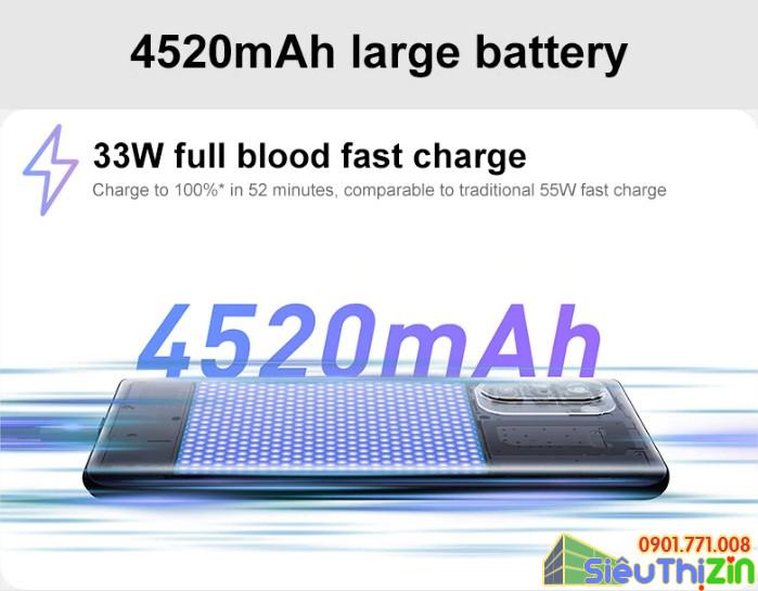 thay pin điện thoại xiaomi redmi k40 pro chính hãng 2