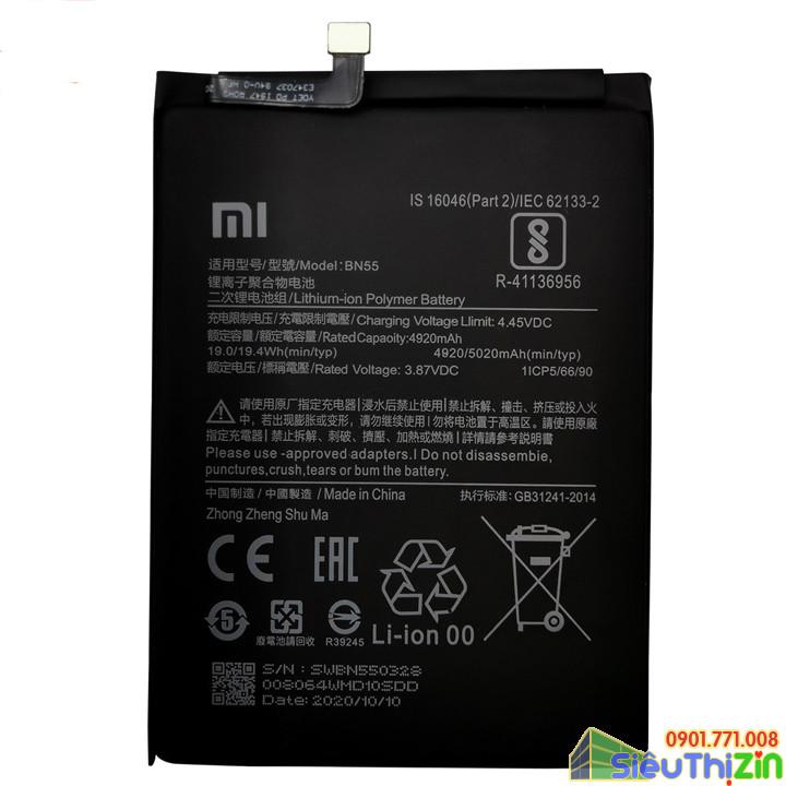 thay pin điện thoại xiaomi redmi note 10 pro chính hãng 2