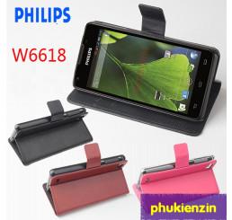 Bao da điện thoại Philips W6610
