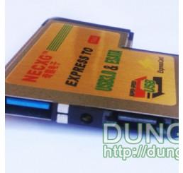 Express card 54mm to Esata+usb3.0 v2