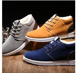 Giày Da Lộn Phong Cách Hàn Quốc G001