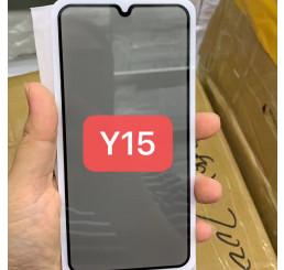 Kính cường lực Vivo Y15 full màn hình, miếng dán màn hình