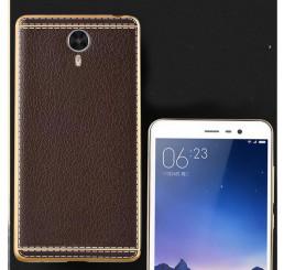 Ốp da Meizu M5 Note silicone phủ da, ốp lưng Meizu M5 Note
