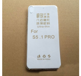 Ốp lưng Gionee S5.1 pro silicone trong suốt
