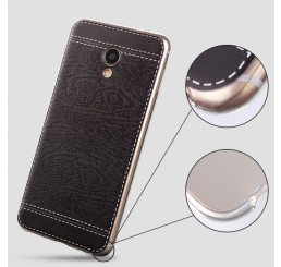 Ốp da Meizu M3 Note silicone phủ da, ốp lưng Meizu M5 Note