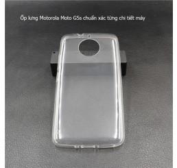 Ốp lưng Motorola moto G5s silicone trong suốt
