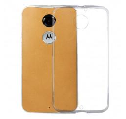 Ốp lưng trắng trong suốt  silicone Motorola Moto X 2nd Gen , X2