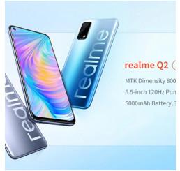 Nắp lưng Realme Q2, miễn phí công thay mặt lưng Realme Q2