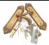 Khóa cửa tay gạt hợp kim nhôm mạ vàng đồng